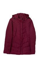 Fashionable women's demi-season jacket with removable hood