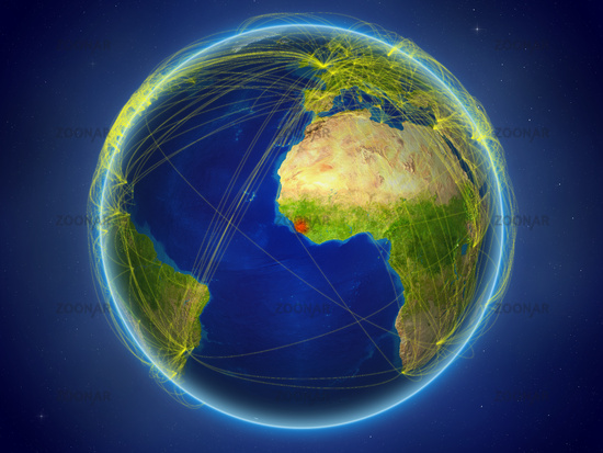 Sierra Leone on Earth with networks