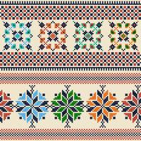 Palestinian embroidery pattern  102