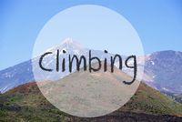 Vulcano Mountain, Text Climbing