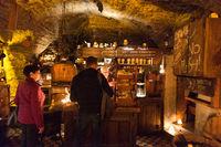 Third Dragon Pub interior and counter, Tallin, Estonia