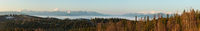 Early morning spring Carpathian mountains