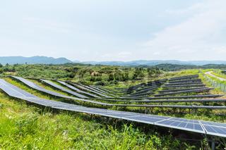 solar energy in mountainous area