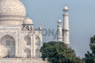 INDIA. The Taj Mahal, Agra, Uttar Pradesh.
