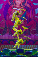 Beijing, China - May 16, 2018: Troupe performing in traditional chinese circus