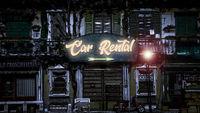 Street Sign Car Rental