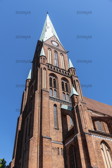 St. Paul´s church, Schwerin, Mecklenburg-Western Pomerania, Germany, Europe