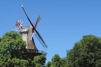 Bremen - Am Wall Windmill (Herdentorswallmühle), Germany