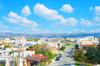 Skyline Paphos road mountains Cyprus