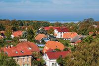 Häuser auf dem Fischland-Darß in Wustrow