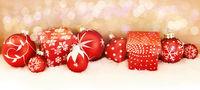 Weihnachten Header Panorama Hintergrund