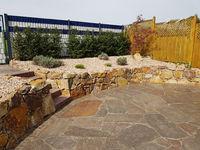 Trockenmauer, Natursteinmauer, Bruchstein