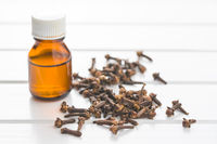 Essential oil of cloves.