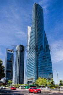 Madrid, Hochhäuser