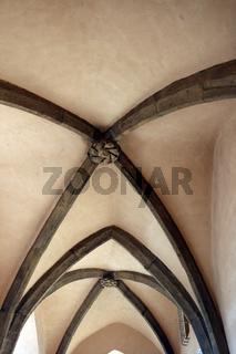 Deckengewölbe in der Prager Altstadt
