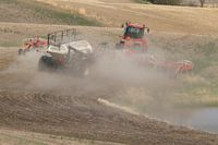 Seeding in Saskatchewan