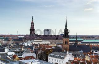 view of the Copenhagen, Denmark