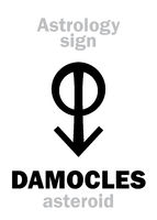 Astrology: asteroid DAMOCLES