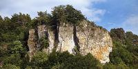 Gerolsteiner Dolomiten, a Devonian limestone reef, Gerolstein, Rhineland-Palatinate, Germany, Europe