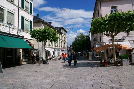 Shopping area Luisenstrasse Bad Homburg