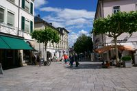 Shopping area Luisenstrasse Bad Homburg