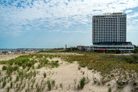 The five-star hotel Neptun on the Baltic Sea.