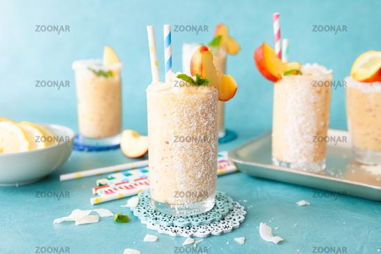 Frozen coconut cocktail