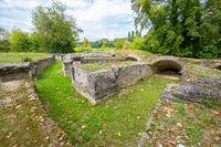 Roman Theater. Dion, Pieria, Greece