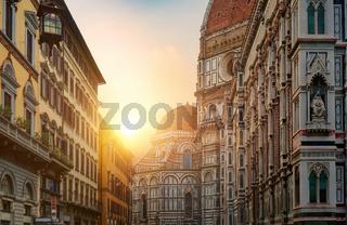 Morning sun and basilica