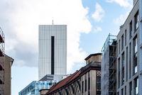 Modern office building skyscraper in Friedrichstrasse area in Berlin
