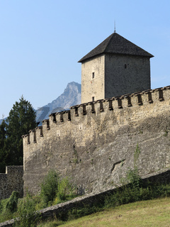 Salzburg - Wehrturm, Josefsturm, Richterhöhe, Mönchsberg, Österreich