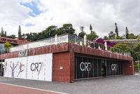 Christiano Ronaldo museum, Pestana CR7 Hotel, Funchal, Madeira, Portugal, Europe