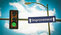 Street Sign to Improvement