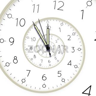 clock deadline spiral