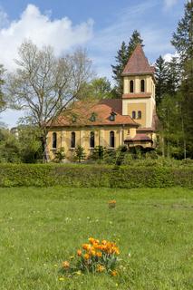 katholische St. Elisabeth Kirche in Bad Elster, Sachsen, Vogtland, Deutschland Europa
