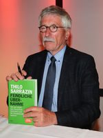 Author and former politician Thilo Sarrazin on 29.04.19 in Magdeburg