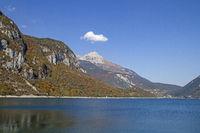 lake Molveno in Trentino