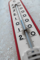 Big external thermometer