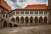 Inner Courtyard of the Castle