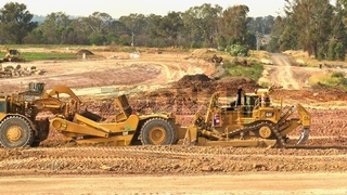 Western Sydney Airport Construction Site