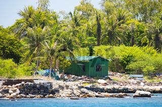 Damaged Fishing Village