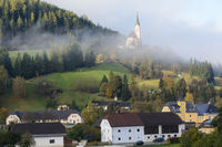 Branch church in rural area - St. Leonhard im Lungau