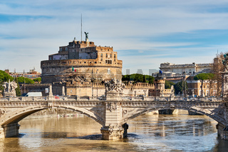 Castle of the Holy Angel (Castel Sant'Angelo) in Rome