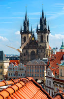 Tynsky cathedral Prague