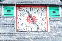 Clock tower, House Solingen Castle