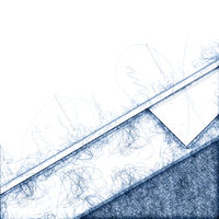 abstract blue ballpoint pen scribble background