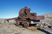 railway crane, Svalbard