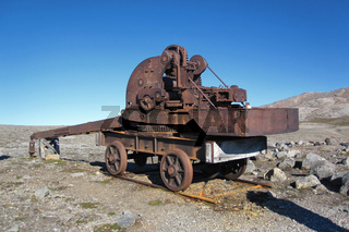 Eisenbahnkran, Spitsbergen