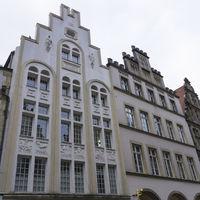 Gable houses at the Prinzipalmarket