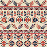 Palestinian embroidery pattern 23